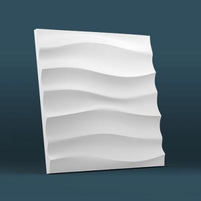"""Пластиковые формы 3D """"Волна горизонтальная крупная"""""""