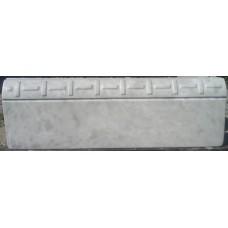 Пластиковые формы «бордюр Циновка»