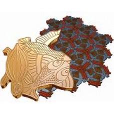 Пластиковые формы ТП серия «Золотое сечение» «Птица рыба черепаха»