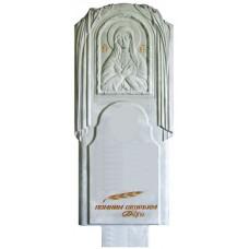 Пластиковые формы «Памятник №006 «Богородица»