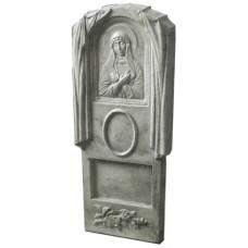 Пластиковые формы «Памятник №016 «Богородица малая»