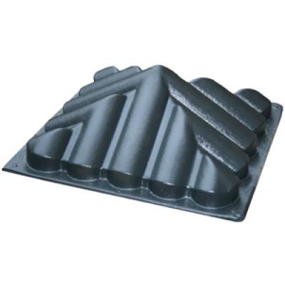 Пластиковые формы «Навершие №5 «Черепица»