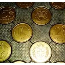 Пластиковые формы ТП серия «Бетонопаркет» «Монеты мира»
