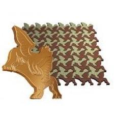 Пластиковые формы ТП серия «Золотое сечение» «Два крылатых льва»