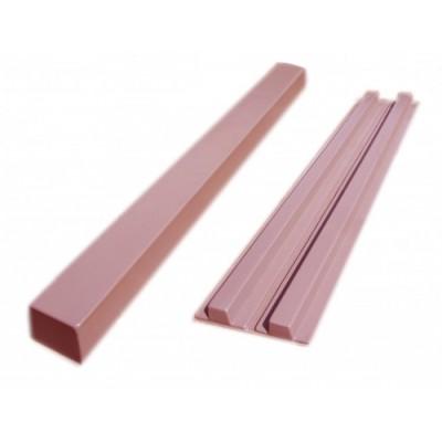 Пластиковые формы «Столб №1 для 4-х секций забора»