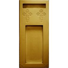 Пластиковые формы «Цветник с каблуком с крестами»