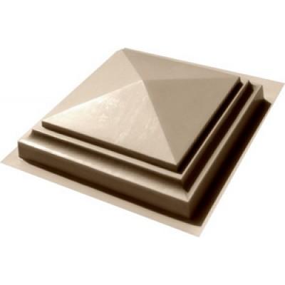 Пластиковые формы «Навершие «Четырехскатное» в 1,5 кирпича»