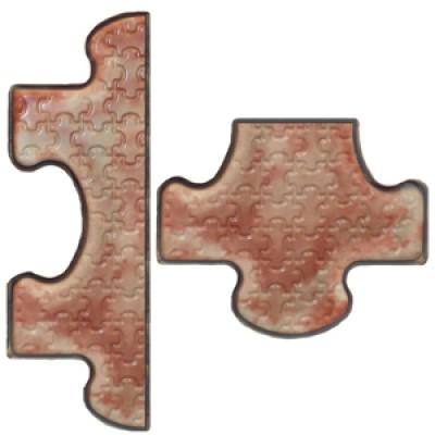 Пластиковые формы ТП «Концевики к плитке Пазлы»