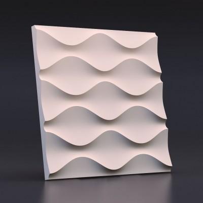 Пластиковые формы 3D «ПЕСОЧНАЯ ВОЛНА»