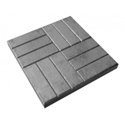Пластиковые формы ТП  «12 КИРПИЧЕЙ» 500х500