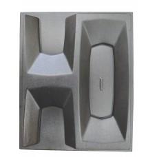 Пластиковые формы 3D перегородки «Окна»
