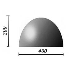 Пластиковые формы «Полусфера 400х200»/л