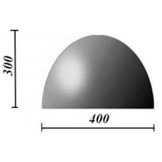 Пластиковые формы «Полусфера 400х300»/л